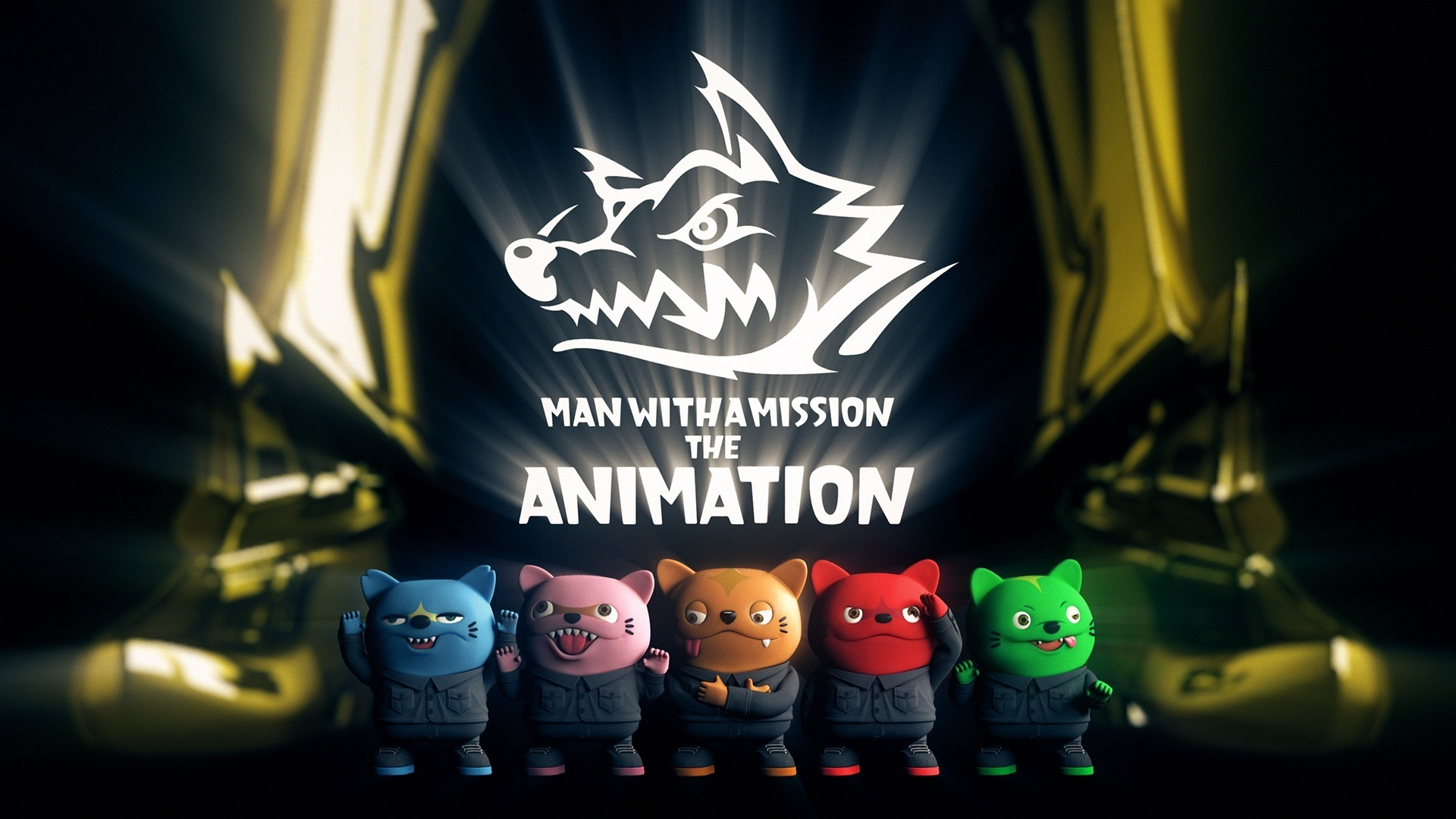 マンウィズ3dcgアニメ Man With A Mission The Animation 後編配信